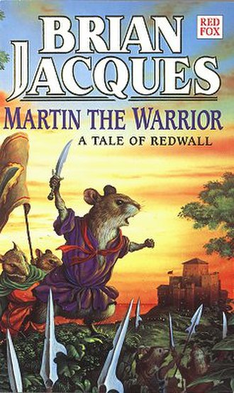 Martin the Warrior - UK first edition cover