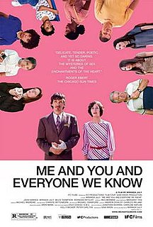 <i>Me and You and Everyone We Know</i> 2005 American romantic comedy-drama film directed by Miranda July
