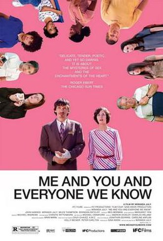 Me and You and Everyone We Know - Theatrical release poster