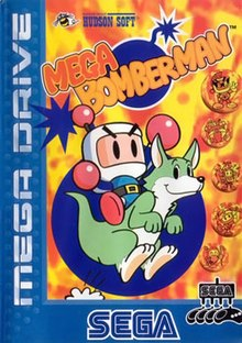 Mega Bomberman cover art