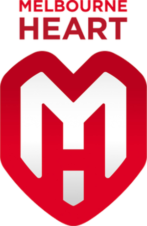Melbourne City FC - Melbourne Heart logo (2009–2014)
