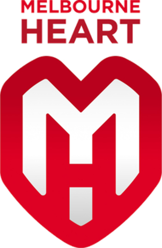 Melbourne City FC - Melbourne Heart logo (2009–2014)