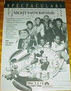 <i>Mickeys 60th Birthday</i> 1988 TV special for Mickey Mouse
