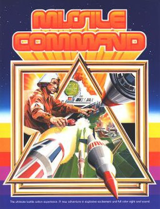 Missile Command - Image: Missile Command flyer