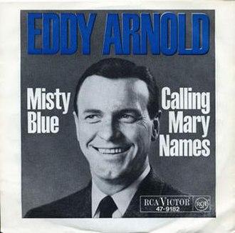 Misty Blue - Image: Misty Blue Eddy Arnold