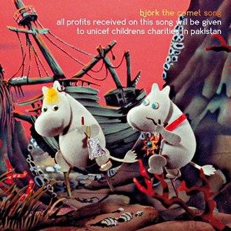 The Comet Song - Image: Moomins Björk Single