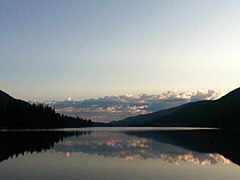 Moyie Lake at twilight in the summertime.jpeg