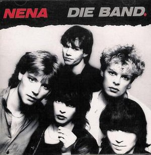 Nena die Band (album) - Image: Nena Die Band Cover