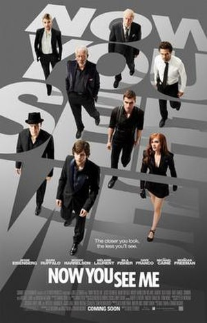 Now You See Me (film) - Theatrical release poster