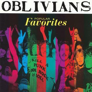 Popular Favorites - Image: Oblivians Popular Favorites 1996 Cover