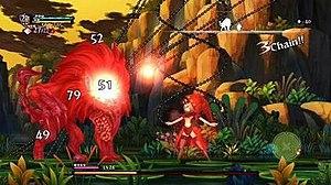 Odin Sphere - Image: Odin Sphere Leifthrasir gameplay