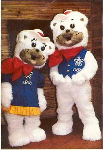 1988 Winter Olympics - Hidy and Howdy were the mascots of the Calgary Games.