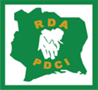 Democratic Party of Côte d'Ivoire – African Democratic Rally - Image: PDCI logo