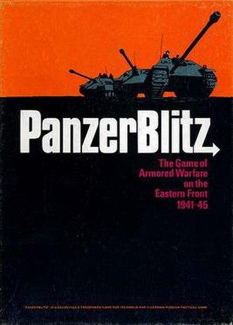 PanzerBlitz - Image: Panzerblitz box cover