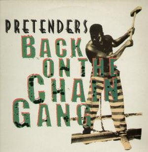 Back on the Chain Gang - Image: Pretenders backonthechaingang