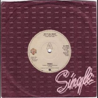 Do It All Night (Prince song) - Image: Prince Do