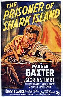 <i>The Prisoner of Shark Island</i> 1936 film by John Ford