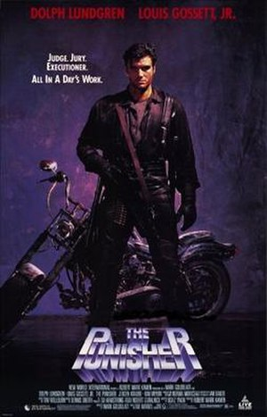 The Punisher (1989 film) - Theatrical release poster