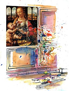 Ray Lowry English cartoonist, illustrator and satirist (1944-2008)