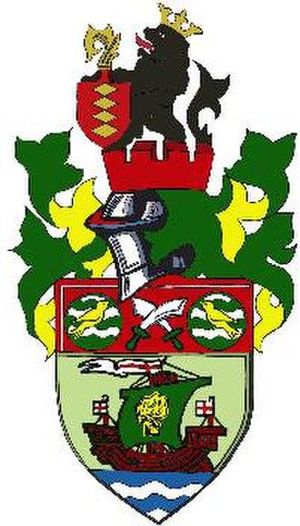 Runcorn F.C. Halton - Image: Runcorn Linnets Crest Large 120dpi