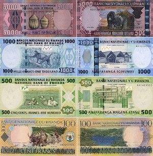 Rwandan franc