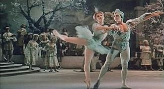 The Sleeping Beauty (ballet) - The Bluebird and Princess Florina (Valeri Panov and Natalia Makarova) from the 1964 Russian motion picture featuring artists of the Kirov Ballet.