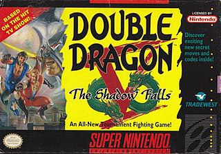 <i>Double Dragon V: The Shadow Falls</i> 1994 fighting video game