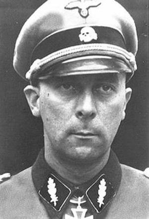 Wilhelm Mohnke - Mohnke in 1944