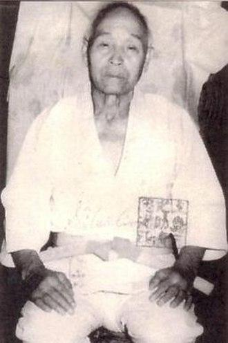 Sannosuke Ueshima - Historical photo of Sannosuke Ueshima