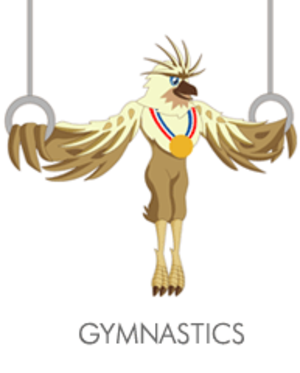 Gymnastics at the 2005 Southeast Asian Games - Gymnastics at the 2005 Southeast Asian Games logo