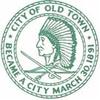Sello oficial de Old Town, Maine