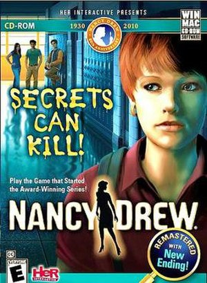 Nancy Drew: Secrets Can Kill - Cover art for Secrets Can Kill Remastered