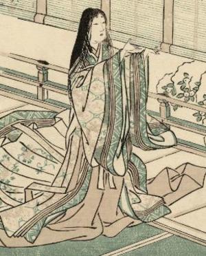 Benizuri-e - Image: Sei Shonagon Tsukioka Settei