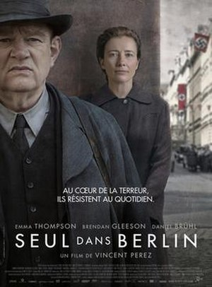 Alone in Berlin (film) - French release poster