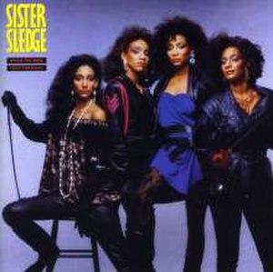 When the Boys Meet the Girls (album) - Image: Sister Sledge Boys Meet Girls