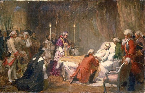 Sketch for The Death of Montcalm