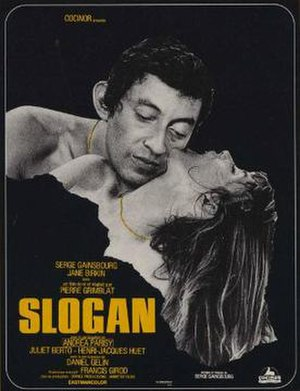 Slogan (film) - Theatrical release poster
