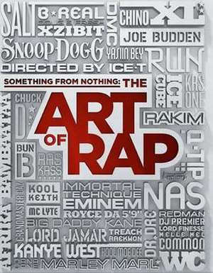 Something from Nothing: The Art of Rap - Theatrical release poster