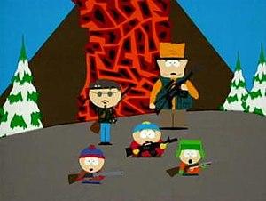 Volcano (South Park) - Image: South Park Volcano