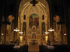School Sisters of St. Francis - Interior of St. Joseph Chapel, Milwaukee