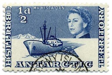 Stamp BAT 1963 0.5p
