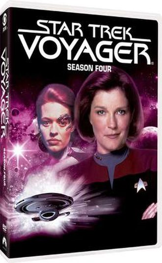 Star Trek: Voyager (season 4) - DVD cover