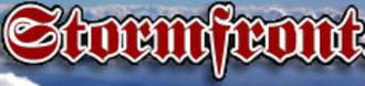 Stormfront (website) - Image: Stormfront header logo