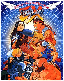 street fighter vs darkstalkers poster