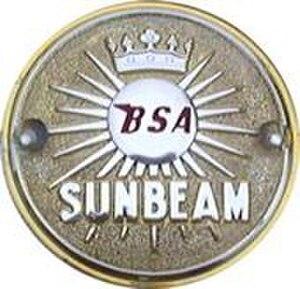 Sunbeam Cycles - The BSA Sunbeam badge
