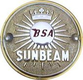 Sunbeam Cycles - The BSA Sunbeam badge
