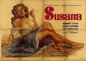 Susana (film) - Theatrical poster