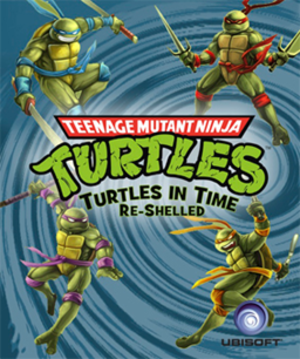 Teenage Mutant Ninja Turtles: Turtles in Time Re-Shelled - Cover art