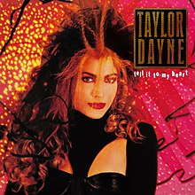 Taylor Dayne – Tell It to My Heart (album cover).jpg