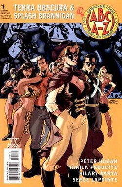 Image result for the fighting yank america's best comics tom strong